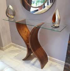 beautiful furniture wooden glass console table e1490011990635