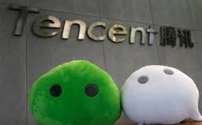 Image result for Tencent above facebook in value