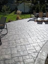 stamped concrete patio. Ashler Slate Stamped Concrete Patio Traditional-patio M