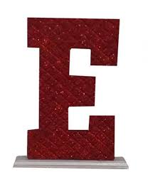 Memories Maker Decoration Letter E Red Price From Jumia In