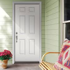 Main Door 32 In X 80 In Rustic Mahogany Type Prefinished Solid Wood Exterior Doors Home Depot
