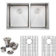 Wells The Chefs Series Undermount Stainless Steel 30 In Handmade 60