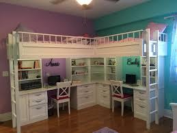 Custom Made Dual Loft Beds With Desks | Kids Room Decor ...