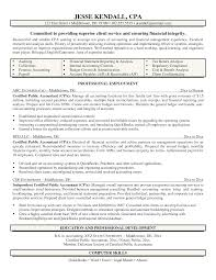 Job Resume Certified Public Accountant Resume Sample Sample
