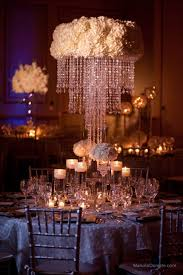 graceful wedding chandelier centerpieces 3