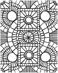 Small Picture Summer Mosaic Coloring Pages Coloring Coloring Pages