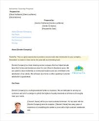 Cleaning Homes Jobs Free 12 Cleaning Proposal Examples And Samples In Pdf