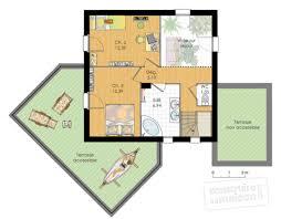 Plan De Maison Contemporaine A Etage Gratuit