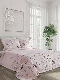 Купить покрывало «<b>Ровена</b> (пыльная роза)» розовый, <b>серый</b> ...