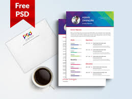 Freebie Resume Cover Letter Template Free Psd Graphics By Psd