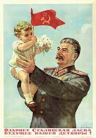 Soviet CCCP USSR Stalin kindness illuminates Children Classic Wall Stickers  Canvas Painting Vintage Poster Home Bar Decor Gift|Wall Stickers| -  AliExpress