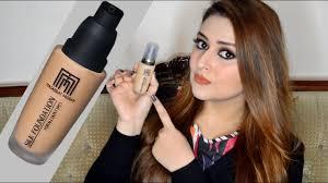 masarrat misbah silk foundation review demo stani makeup