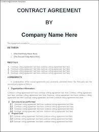contract between 2 companies agreement between two parties lofts at studios samples simple
