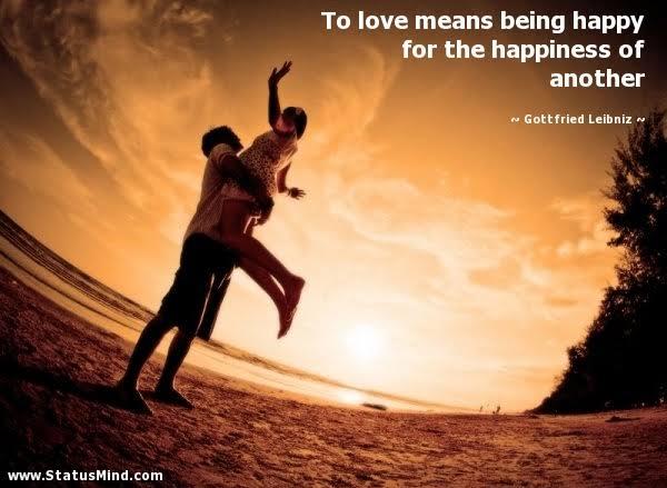happiness love status
