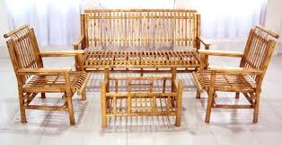 furniture made of bamboo. Bamboo Sofa Set Furniture Made Of R