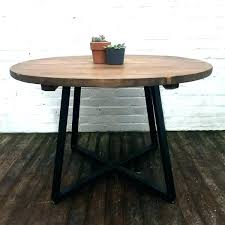 Industrial Round Dining Table Uk Myhappybaby Co