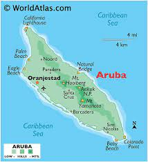 It is westernmost island of the abc islands and of the leeward antilles. Aruba Maps Facts World Atlas