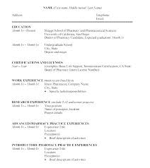 School Teacher Resume Format In Word Mesmerizing Undergraduate Resume Template Word Theworldtomeco