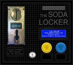 How To Remove Change From A Vending Machine Simple Make An Arduinobased Soda Vending Machine That Fits In Your School