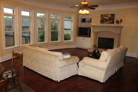 Living Room Layout With Corner Fireplace And Tv