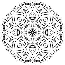 Mandala Coloring Pages Pdf Mandala Coloring Pages Geometric Complex