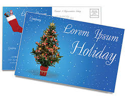 20 Nice Holiday Postcards Templates