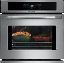 frigidaire ffew3025ps 30 inch single electric wall oven with 4 6 cu ft self clean oven delay clean option timed cook option keep warm setting