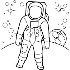 Small Picture Astronaut Coloring Pages GetColoringPagescom