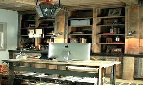 rustic office furniture ideas wonderful home unbelievable design d38