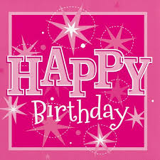 Details About Pink Sparkle Happy Birthday Paper Party Lunch Napkins X 20