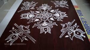 Said Design Muggulu Simple Rangoli Designs Without Colour Rangoli Muggulu