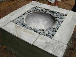concrete fire pit diy outdoor fireplace ideas to combat the winter chill