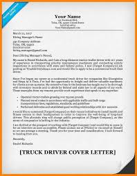 Truck Driver Cover Letter Samples Truck Driver Cover Letter 2015 Truck Driver Cover Letter Sample Jpg