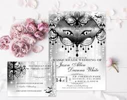 Masquerade Wedding Invites Masquerade Wedding Invitation Rustic Wedding Invite Halloween