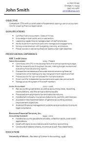 Sample Accountant Resume Musiccityspiritsandcocktail Com