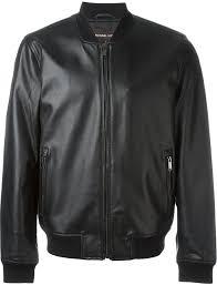 black leather er jackets michael kors michl kors leather er jacket