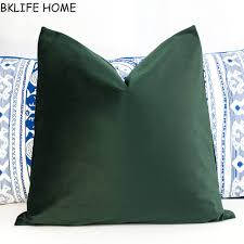 Olive Green Pillow Covers