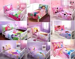 toddler bed sheets girl comforter new girls bedding set multiple characters sets