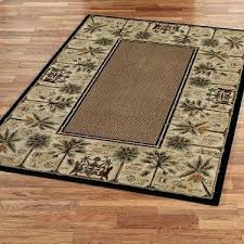 courtyard palm tree area rugs design