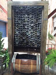 diy glass water wall feature ideas