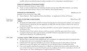 Financial Economist Sample Resume Podarki Co