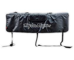 Troy Lee Designs Tailgate Cover Troy Lee Designs Tailgate Cover Signature Black L 918037204 Accessories