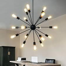 black sputnik chandelier vintage ceiling light celestial sputnik black lamp table hanging lamp kitchen fixtures indoor