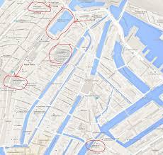 coffeeshop map amsterdam 2015