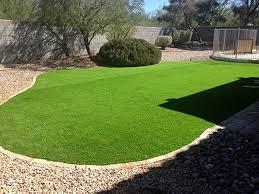 Artificial Turf Installation Tanque Verde Arizona Landscape Rock