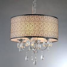 chandeliers chandelier base plate lush 3 light chrome chandelier with shade