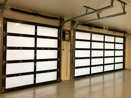 hurricane door doors spring with windows garage and panel insulated remote sensor inside impact garage
