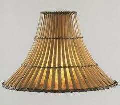 bamboo lamp shades fresh amazing wicker 25635 8