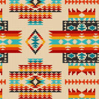 navajo bead designs. Exellent Navajo Native Beaded Pattern Black Out Of Print Rare Throughout Navajo Bead Designs V