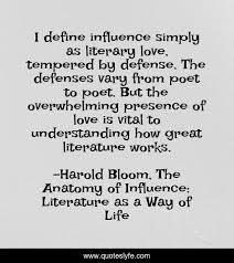 best harold bloom the anatomy of